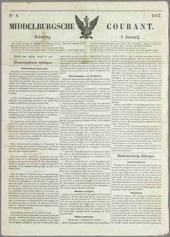 Middelburgsche Courant 1857-01-03
