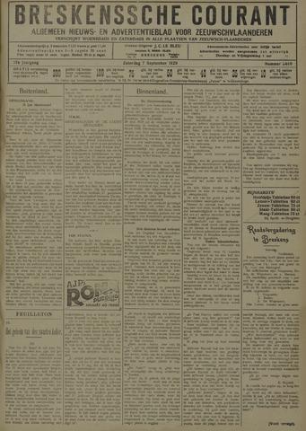Breskensche Courant 1929-09-07