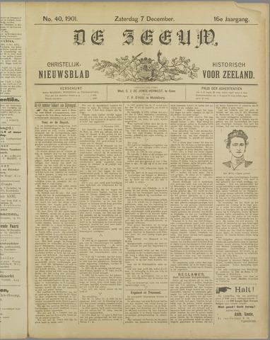De Zeeuw. Christelijk-historisch nieuwsblad voor Zeeland 1901-12-07