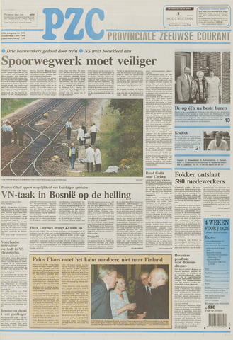 Provinciale Zeeuwse Courant 1995-06-01