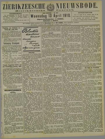 Zierikzeesche Nieuwsbode 1910-04-13