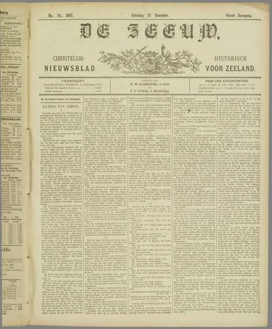 De Zeeuw. Christelijk-historisch nieuwsblad voor Zeeland 1895-11-23