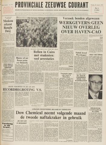Provinciale Zeeuwse Courant 1972-01-25