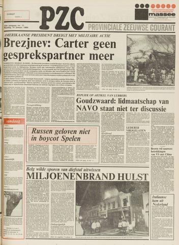 Provinciale Zeeuwse Courant 1980-01-14