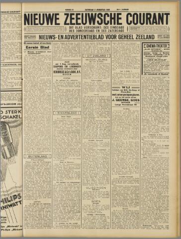 Nieuwe Zeeuwsche Courant 1930-08-02