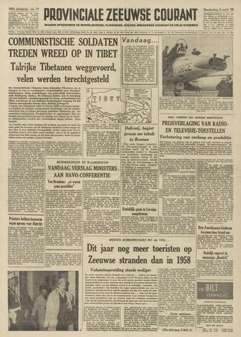 Provinciale Zeeuwse Courant 1959-04-02