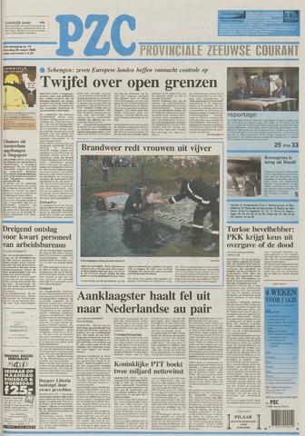 Provinciale Zeeuwse Courant 1995-03-25