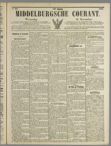 Middelburgsche Courant 1906-11-21
