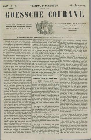 Goessche Courant 1867-08-09