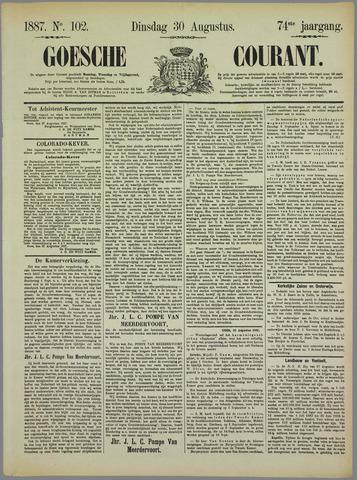 Goessche Courant 1887-08-30