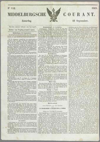Middelburgsche Courant 1865-09-23