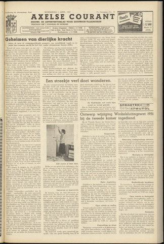 Axelsche Courant 1957-04-03