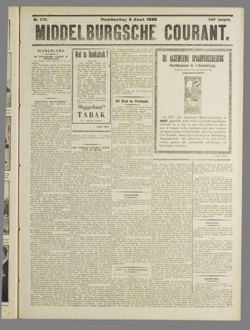 Middelburgsche Courant 1925-06-04