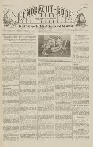 Eendrachtbode (1945-heden)/Mededeelingenblad voor het eiland Tholen (1944/45) 1949-12-16