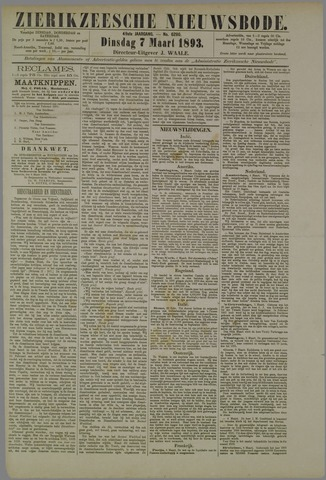 Zierikzeesche Nieuwsbode 1893-03-07