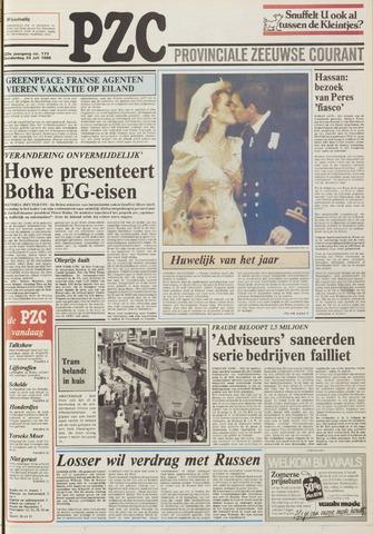 Provinciale Zeeuwse Courant 1986-07-24