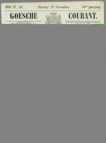Goessche Courant 1893-11-28