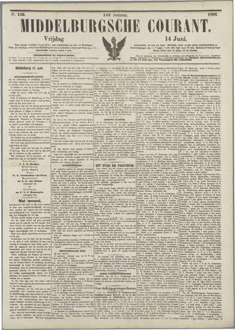 Middelburgsche Courant 1901-06-14