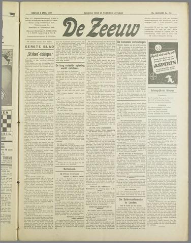 De Zeeuw. Christelijk-historisch nieuwsblad voor Zeeland 1937-04-06