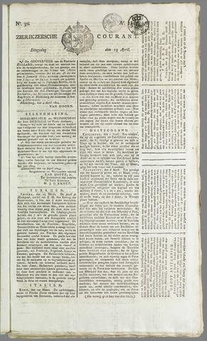Zierikzeesche Courant 1824-04-13
