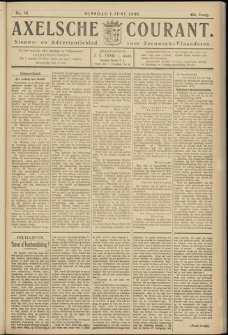 Axelsche Courant 1926-06-01