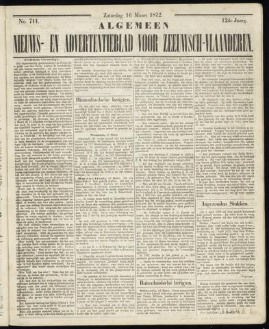 Ter Neuzensche Courant. Algemeen Nieuws- en Advertentieblad voor Zeeuwsch-Vlaanderen / Neuzensche Courant ... (idem) / (Algemeen) nieuws en advertentieblad voor Zeeuwsch-Vlaanderen 1872-03-16