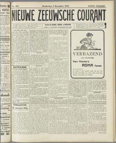 Nieuwe Zeeuwsche Courant 1912-12-05