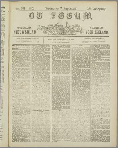De Zeeuw. Christelijk-historisch nieuwsblad voor Zeeland 1912-08-07
