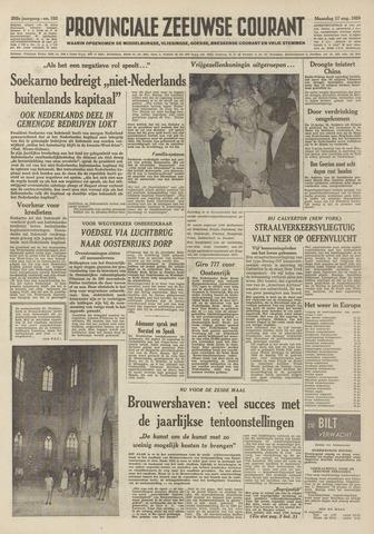 Provinciale Zeeuwse Courant 1959-08-17
