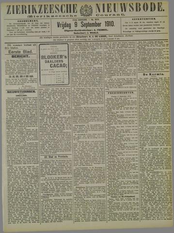 Zierikzeesche Nieuwsbode 1910-09-09