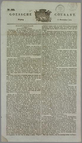Goessche Courant 1833-11-22