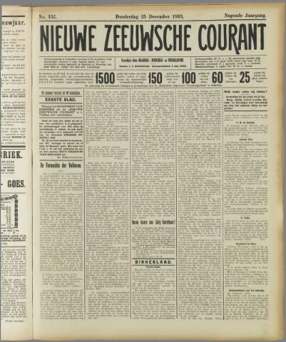 Nieuwe Zeeuwsche Courant 1913-12-25