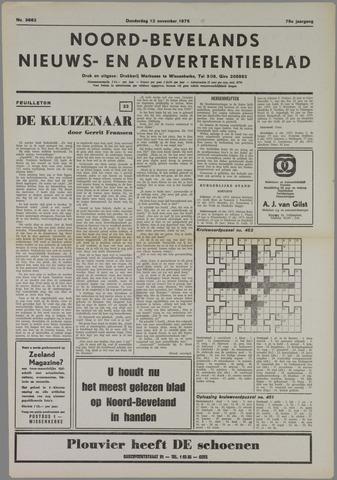 Noord-Bevelands Nieuws- en advertentieblad 1975-11-13