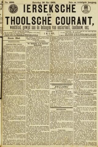 Ierseksche en Thoolsche Courant 1906-05-26