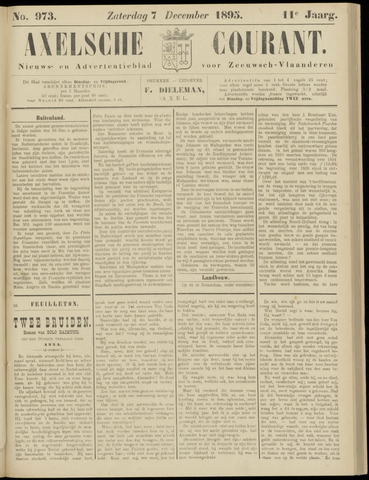 Axelsche Courant 1895-12-07