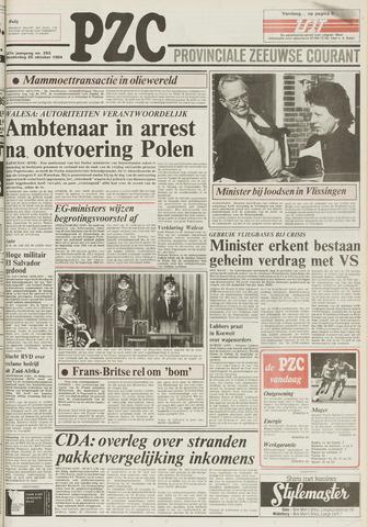 Provinciale Zeeuwse Courant 1984-10-25