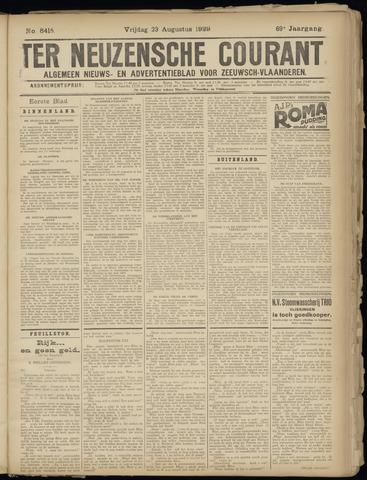 Ter Neuzensche Courant. Algemeen Nieuws- en Advertentieblad voor Zeeuwsch-Vlaanderen / Neuzensche Courant ... (idem) / (Algemeen) nieuws en advertentieblad voor Zeeuwsch-Vlaanderen 1929-08-23