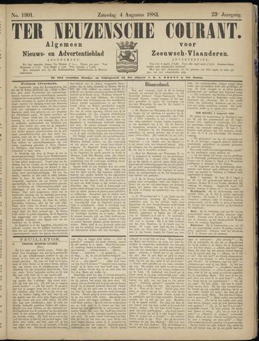 Ter Neuzensche Courant. Algemeen Nieuws- en Advertentieblad voor Zeeuwsch-Vlaanderen / Neuzensche Courant ... (idem) / (Algemeen) nieuws en advertentieblad voor Zeeuwsch-Vlaanderen 1883-08-04