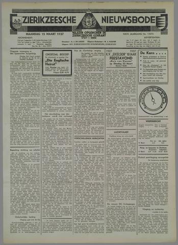 Zierikzeesche Nieuwsbode 1937-03-15