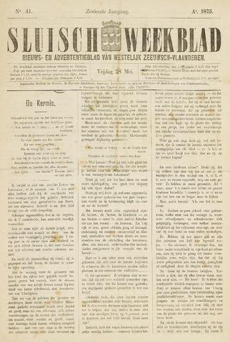 Sluisch Weekblad. Nieuws- en advertentieblad voor Westelijk Zeeuwsch-Vlaanderen 1875-05-28