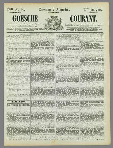 Goessche Courant 1890-08-02