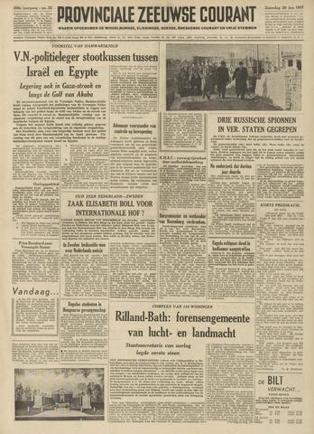Provinciale Zeeuwse Courant 1957-01-26