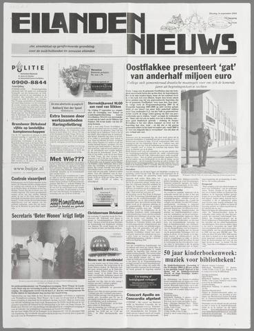 Eilanden-nieuws. Christelijk streekblad op gereformeerde grondslag 2004-09-14