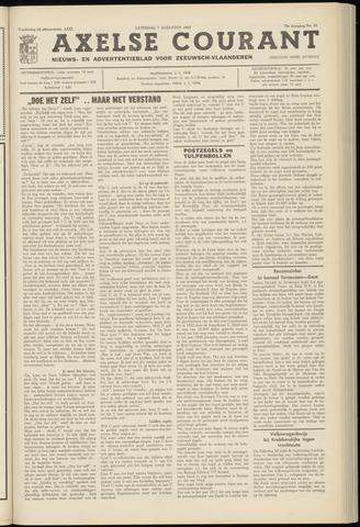 Axelsche Courant 1965-08-07