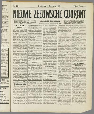 Nieuwe Zeeuwsche Courant 1909-12-30
