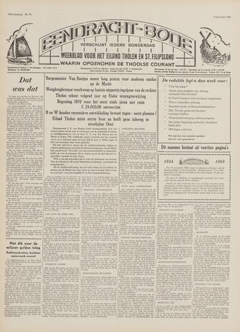 Eendrachtbode (1945-heden)/Mededeelingenblad voor het eiland Tholen (1944/45) 1969-11-06