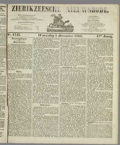 Zierikzeesche Nieuwsbode 1860-12-05