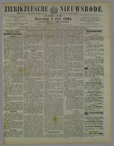 Zierikzeesche Nieuwsbode 1903-07-04