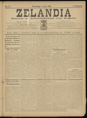 Zelandia. Nieuws-en advertentieblad voor Zeeland | edities: Het Land van Hulst en De Vier Ambachten 1902-06-04