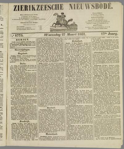Zierikzeesche Nieuwsbode 1861-03-27